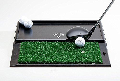 (Callaway Golf- FT Launch Zone Hitting Mat & Ball Tray Combo )