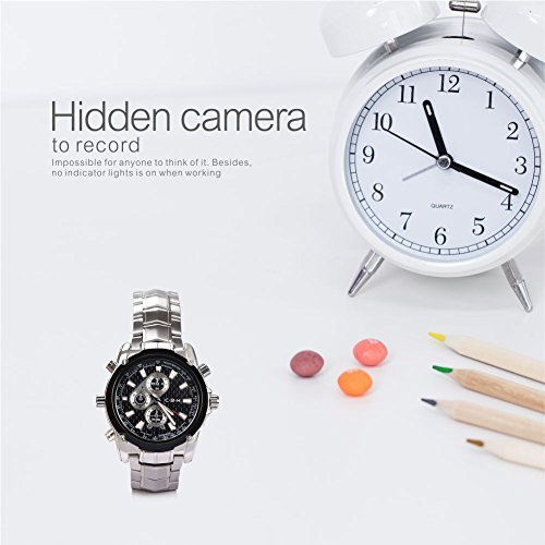 Hidden Camera Fashion Portable Security Camera Loop Video Recorder Spy Video Camera