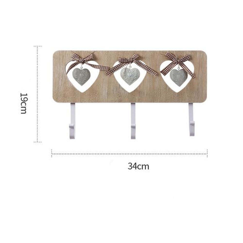 DB&PEISHI Wall shelf / living room wall-mounted hook / bedroom door hook / storage shelf , love peg