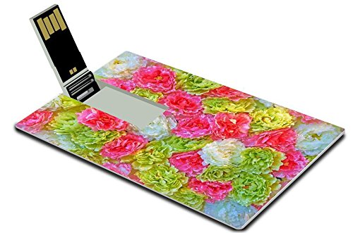 Green Background Images (Luxlady 32GB USB Flash Drive 2.0 Memory Stick Credit Card Size IMAGE ID: 35657572 Paper folding multicolored abstract for)