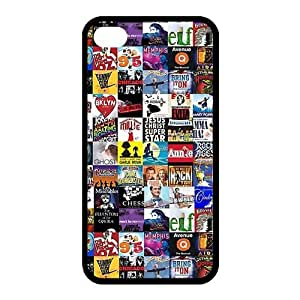 Personalized Broadway Collage Hard Case for Apple iphone 4/4s case-BB1411