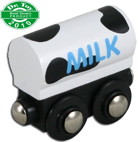 Freight Express Train (Li'l Chugs Wooden Trains Milk Freight Car)