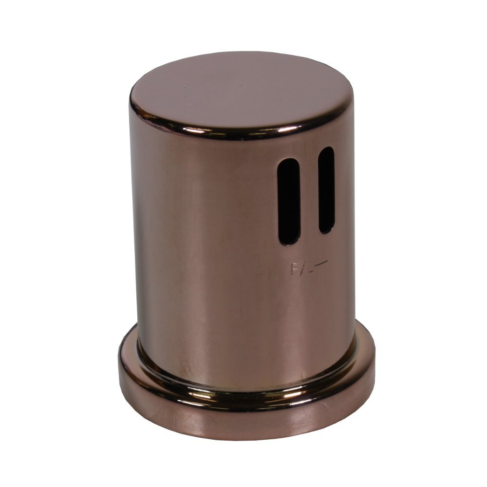Polished Rose Bronze Cap for AG200 Series Dishwasher Airgaps
