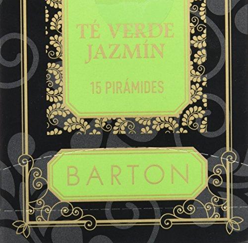 Barton Te Verde Jazmin - 15 piramides