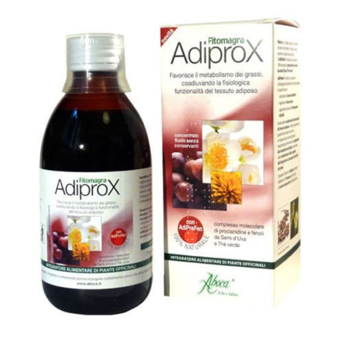 Aboca ADIPROX Advanced Fat Metabolism Fluid Food Supplement ()