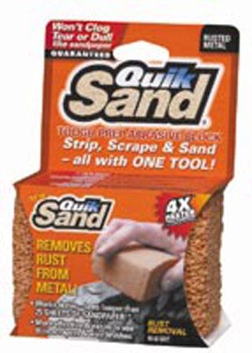 QuickSand 320SS Rusted Metal Sanding Block