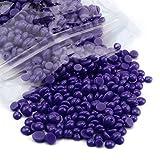 Depilatory Wax, Mapletop Hair Removal Hard Wax Beans Depilatory Hot Melting Film Beads (100g, E2)