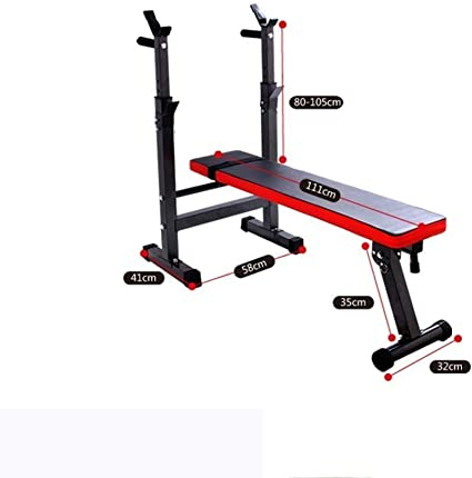 Basic Flat Weight Lifting Barbell Dumbbell Bench Home Gym Exercise Equipment New