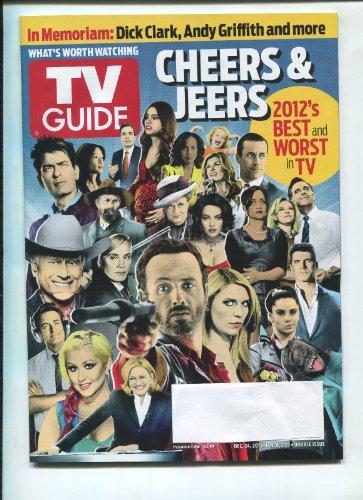 TV Guide December 24, 2012 - Jan 6, 2013 Cheers & Jeers 2012's Best & Worst in TV