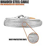 BV Pet Reflective Tie Out Cable for Dog up to 90