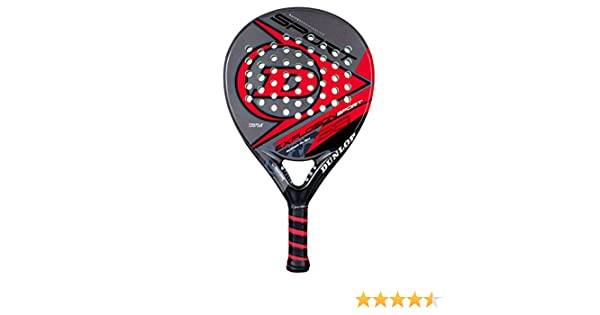 Dunlop Explosion Sport - Pala de pádel, Color Rojo/Negro: Amazon.es: Deportes y aire libre