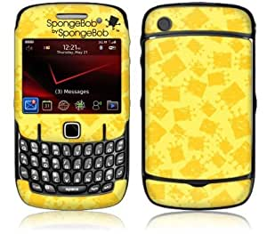 MusicSkins, MS-SBSB40044, SpongeBob by SpongeBob - Iconic Yellow, BlackBerry Curve (8520/8530), Skin