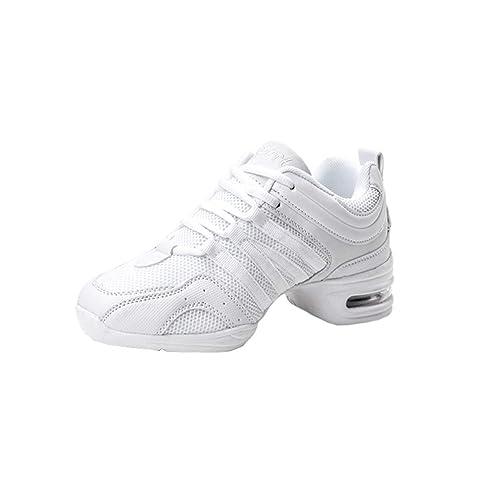 Zapatillas Deportivas Transpirables Cómodas Inferiores Suaves Señoras Zapatillas Deporte Dance Fitness Mujer Zapatos Baile Antideslizantes Resistentes ...