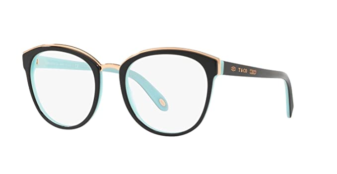 9b0102295d Tiffany   Co. TF2162 8055 BLACK BLUE Frame Size 51 at Amazon Men s ...