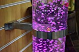 bubble tank - Sesnsory LED Bubble Tube - Water Tank Fake Aquarium - Decorative Display, Feature, Night Light - Stimulating Home and Office Décor - by Playlearn (15cm Bracket)
