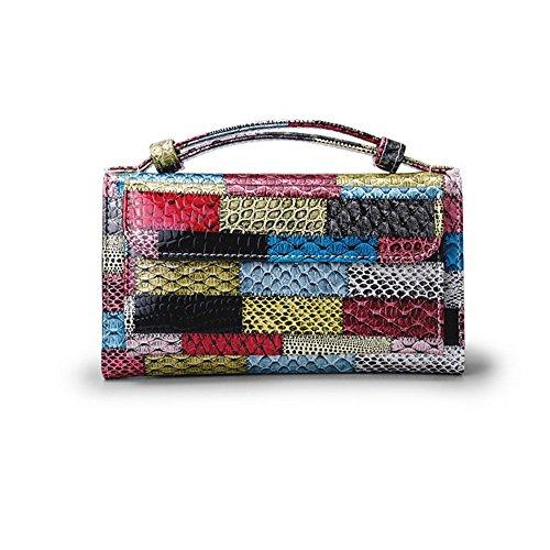 bag Purse Real Women's leather shoulder bag Red Handbags Messenger SXq0rtA0w