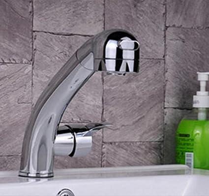 RTS @ monomando baño Platillos para lavabo cocina batidora grifo grifo Trigger Sprayer 2 Function Outlet