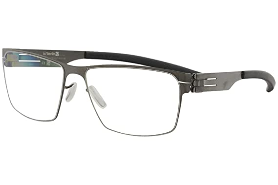 9f1d6e8146f Image Unavailable. Image not available for. Color  ic! berlin Torsten S. Graphite  Metal Rectangle Eyeglasses 54mm