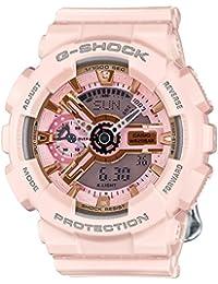 G-Shock Gold and Pink Dial Pink Resin Quartz Ladies Watch...