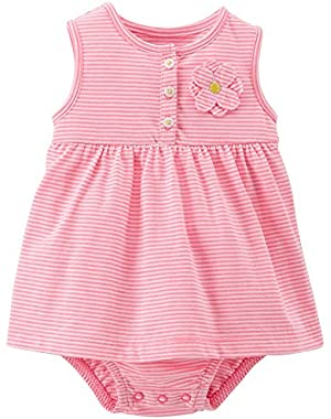 Baby Girls' Dress Romper (Baby)
