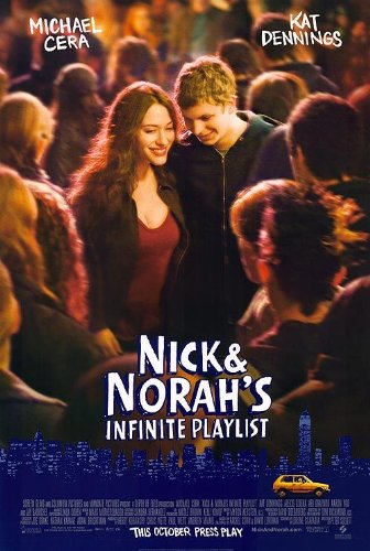 NICK AND NORAH'S INFINITE PLAYLIST MOVIE POSTER 2 Sided ORIGINAL 27x40