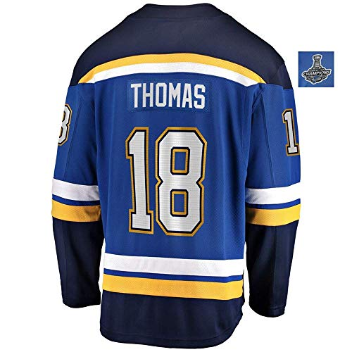 Men/Women/Youth_Robert_Thomas_Blue_2019_Stanley_Cup_Champions_Gane_Jersey ()
