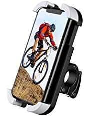 TIMESS New Bike Motorcycle Phone Mount Holder for Any Smartphone GPS Adjustable, Anti Shake and Stable 360° Rotation Bike Accessories fit for Between 3.5 and 6.5 inches