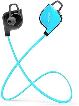 Auriculares Bluetooth, Crenova Bluetooth 4.1 a Prueba de Sudor ...