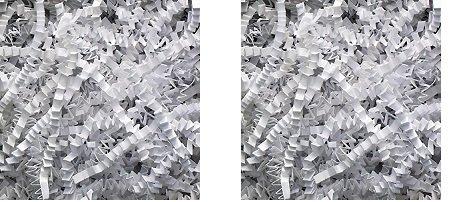 Aviditi CP10B Crinkle Cut Paper, 10 lbs per Case, White (2-Pack) by Aviditi