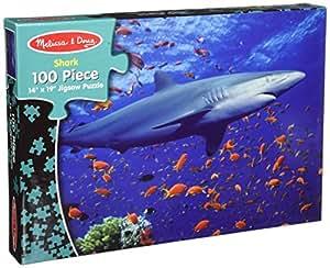 Melissa & Doug Shark Jigsaw Puzzle (100 pcs)