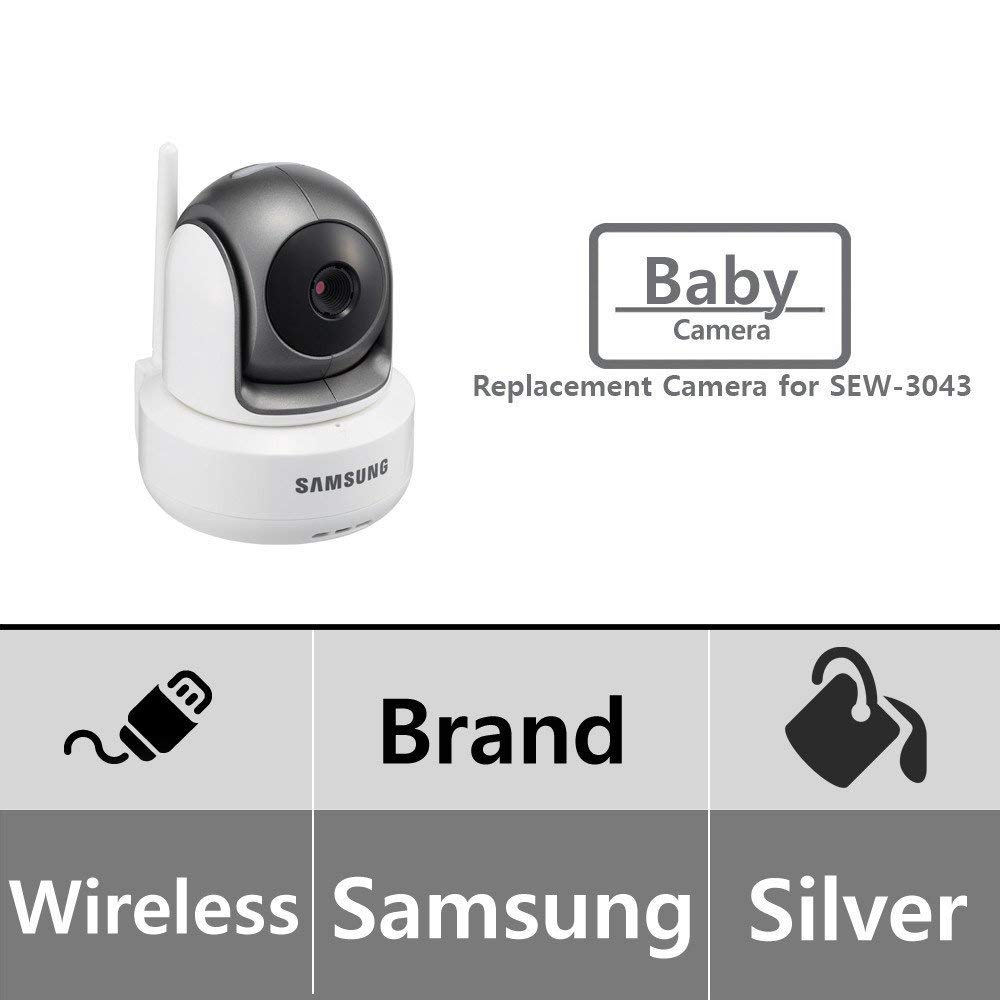 Samsung SEP-1003R BrightView Wireless 720p HD PTZ Video Baby Camera for SEW-3043W (Renewed) by Samsung (Image #1)