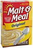 Malt-O-Meal Original Hot Wheat Cereal, 18-Ounce Boxes (Pack of 5)