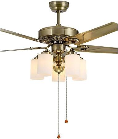 Chandelier Lámparas de araña Luz De Ventilador Ventilador De Techo ...
