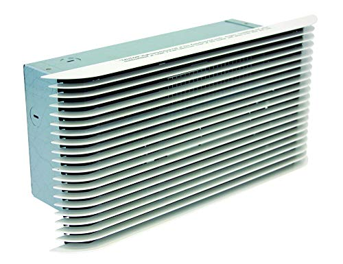 Ultra Thin Wall - KING PAW2422-U 2250-Watt 240-Volt Pic-A-Watt Wall Heater, White Ultra Grill