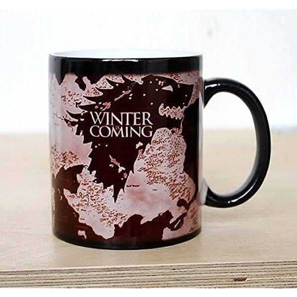 Le bureau de la reine drôle chaleur Magic Colour Changing Mug