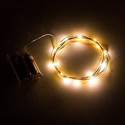 BMOUO COM002 Sliver Wire LED String Lights