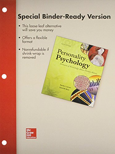 Loose Leaf for Personality Psychology with Connect Access Card
