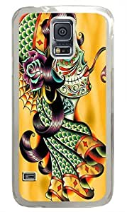 Cold Blooded PC Case Cover for Samsung S5 and Samsung Galaxy S5 Transparent