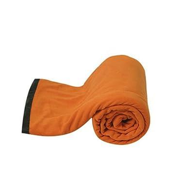 SHUIDAI Sac de couchage extérieur/coton , orange , 180*80