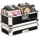 Odyssey K45120BLK Krom Series Black Record/Utility Case for 120 7-Inch Vinyl Records