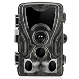 """Suntekcam Trail Camera Wildlife 16MP 1080P Hunting Scouting HD 0.3s Trigger Speed Night Vision 49ft Infrared Cam IP65 Waterproof 2.0""""Color TFT LCD 36 LEDs 3 Passive Infrared Sensors"""