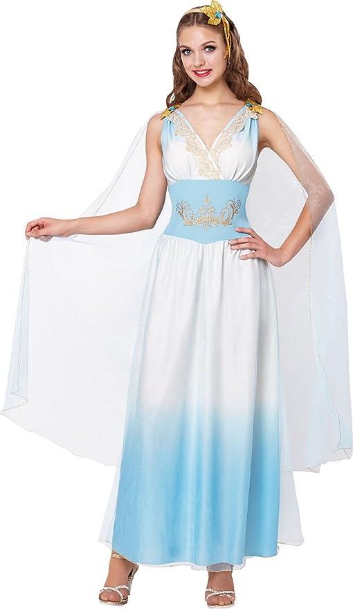 Onlyglobal Disfraz de diosa griega para mujer, diseño de ...