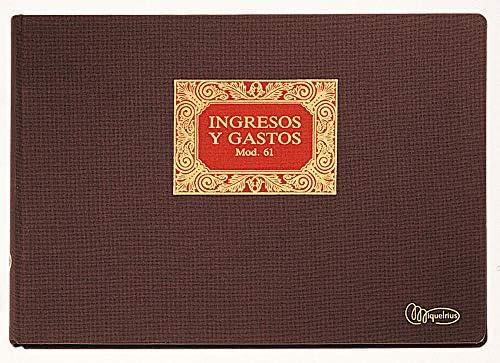 Miquelrius 5061 - Libro n. 61 ingresos y gastos: Amazon.es: Oficina y papelería