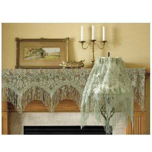Victorian lampshade fringe