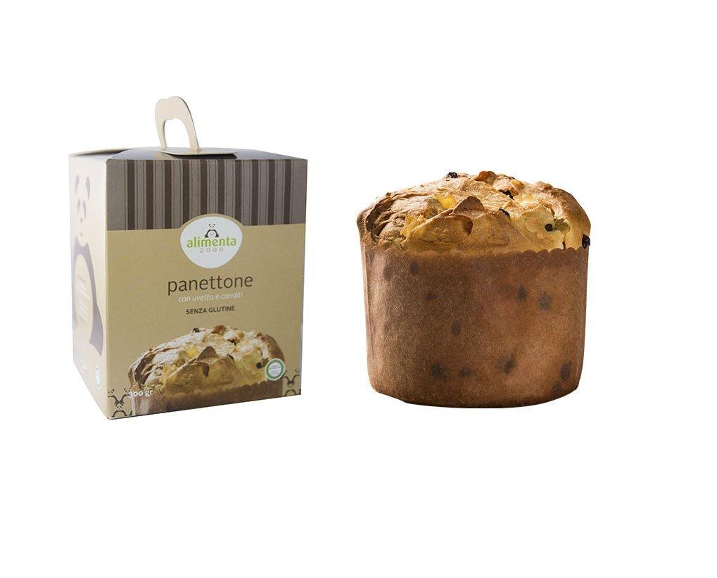 Panettone sin gluten con pasas y fruta confitada - 300g ...