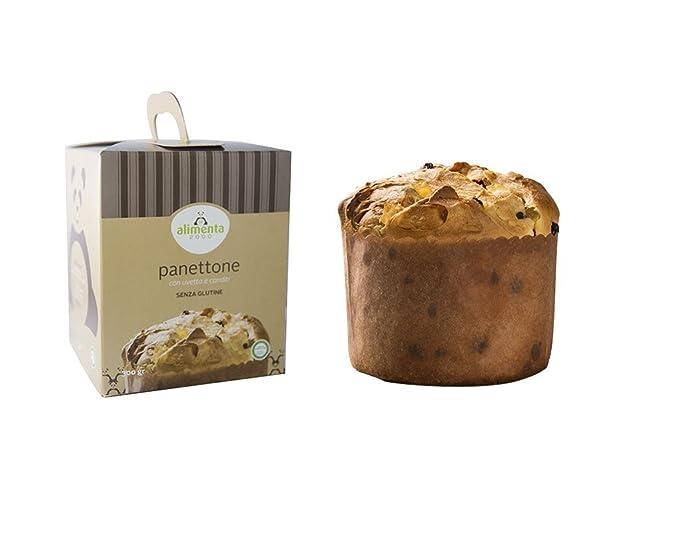 Panettone sin gluten con pasas y fruta confitada - 300g