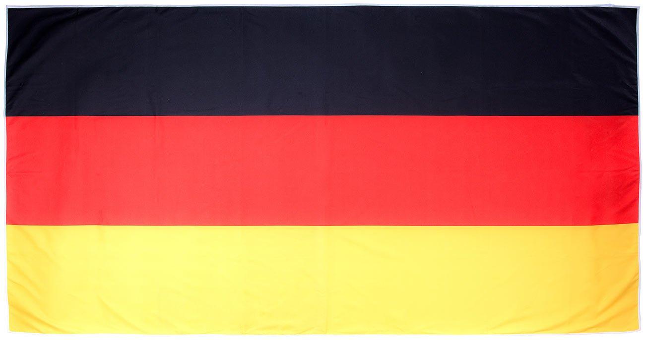 Pearl - Toalla Deportiva de Microfibra con Funda y Respaldo, 50 x 100 cm, Fibra sintética, 180 x 90 cm, Color Negro: Amazon.es: Hogar