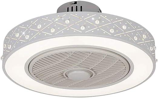Comtervi - Plafón Ventilador de Techo, luz Ventilador de Techo LED ...