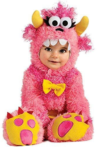 Rubie's Noah's Ark Pinky Winky Monster Romper Costume, Pink, 12-18 Months ()