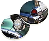 Absorbent Ceramic Car Coasters 2.75 Inches Classic